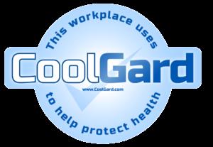 CoolGard premises sticker