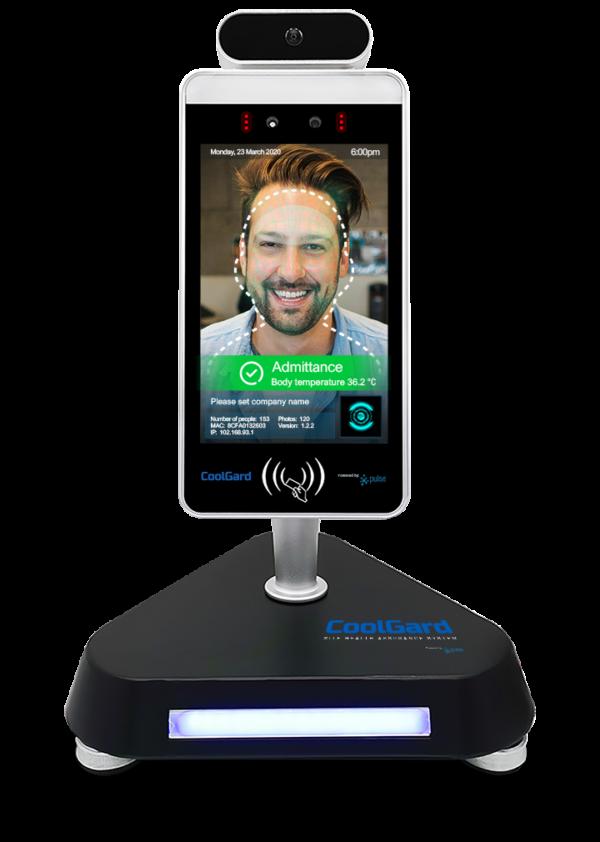 CoolGard facial recogntion AI - table top device