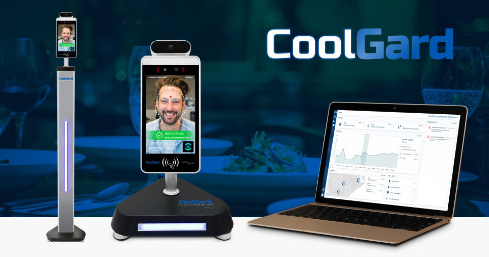 CoolGard visitor management system COVID-19 compliance